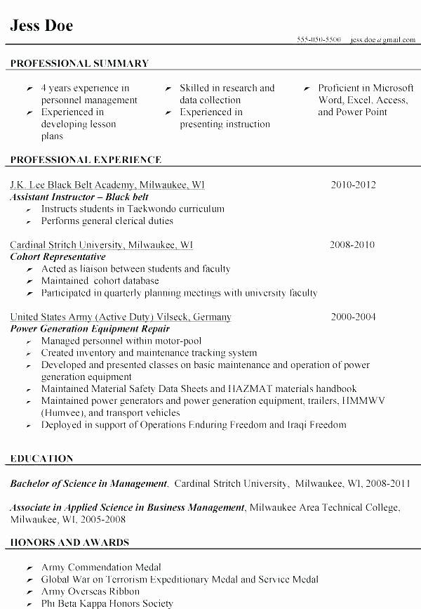 Military Resume Builder – Mkmafo