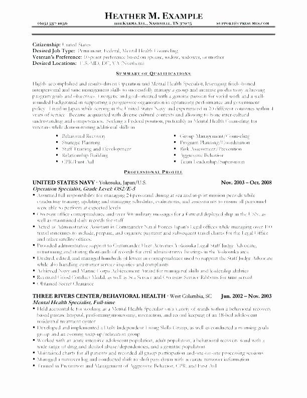 Military Veteran Resume Examples – Gyomorgyurufo