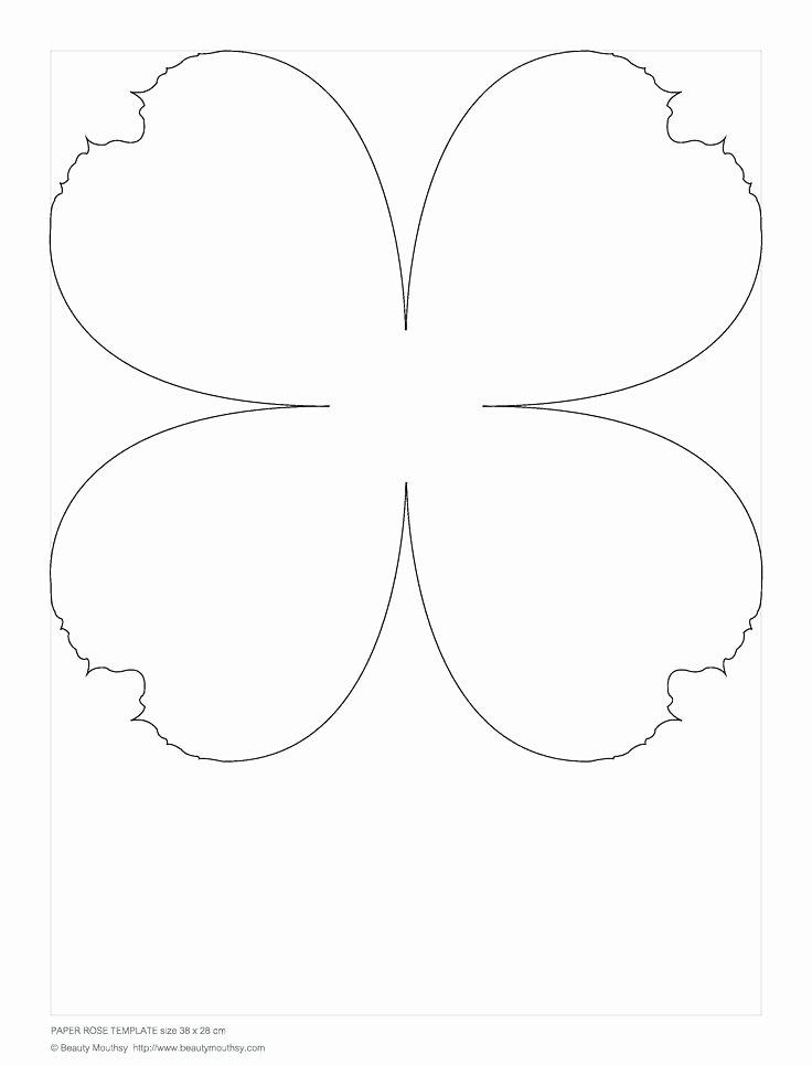 Mini Paper Flower Template – Cassifields