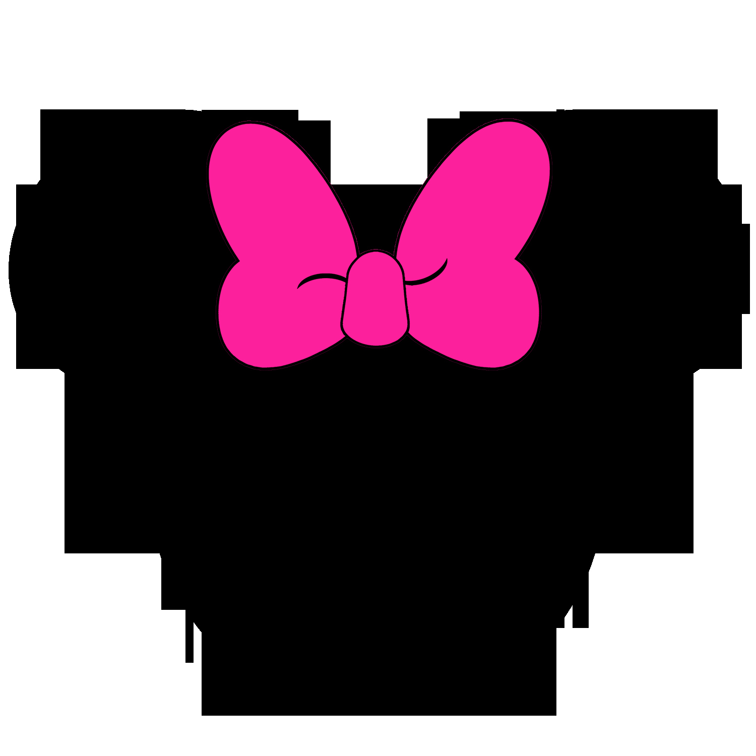 Minnie Mouse Face Clipart Outline Clipground