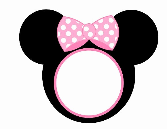 Minnie Mouse Template Printable