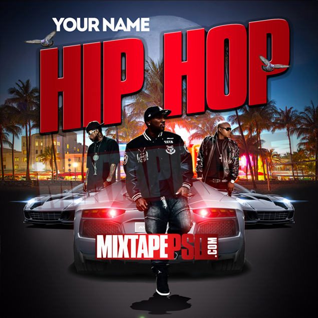 Mixtape Template Hip Hop Psd 2 by Mixtapepsd On Deviantart