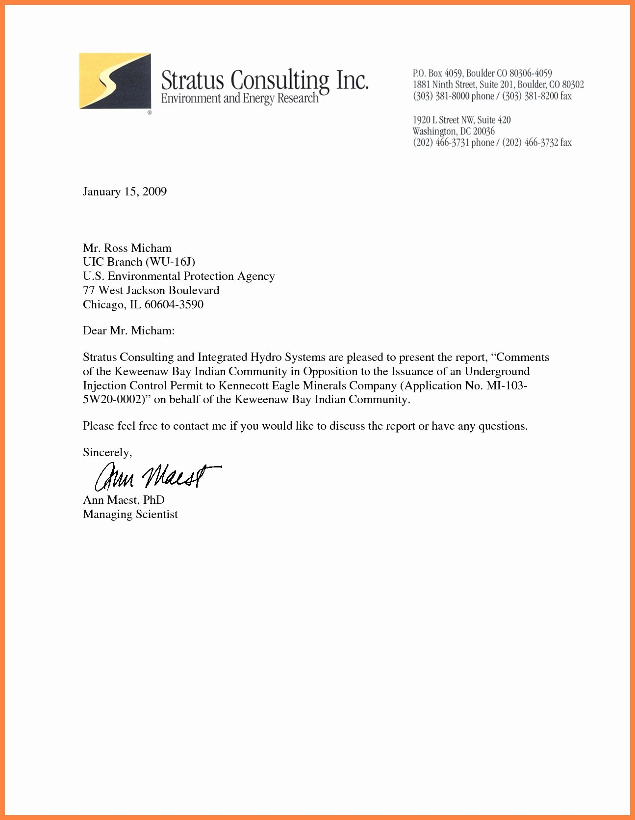 Mla Business Letter format Template