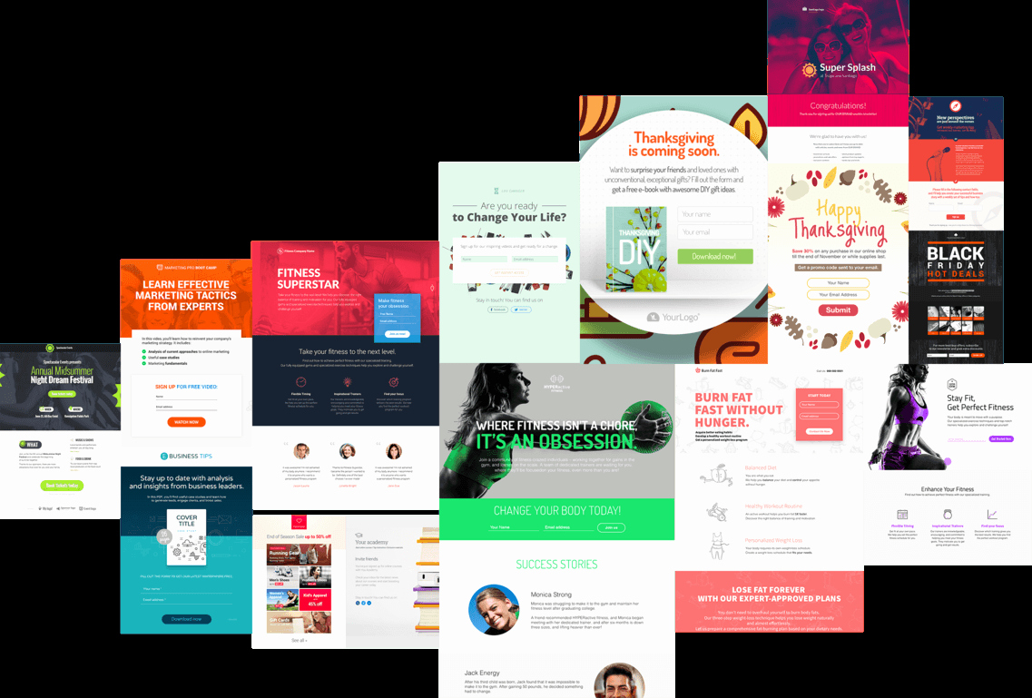 Mobile Landing Page Creator