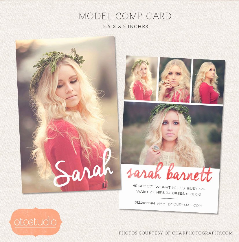 Model P Card Shop Template Watercolor Chic Cm001