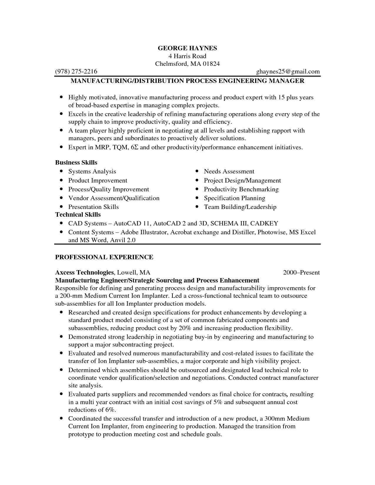 Model Resume Pdf Free Download