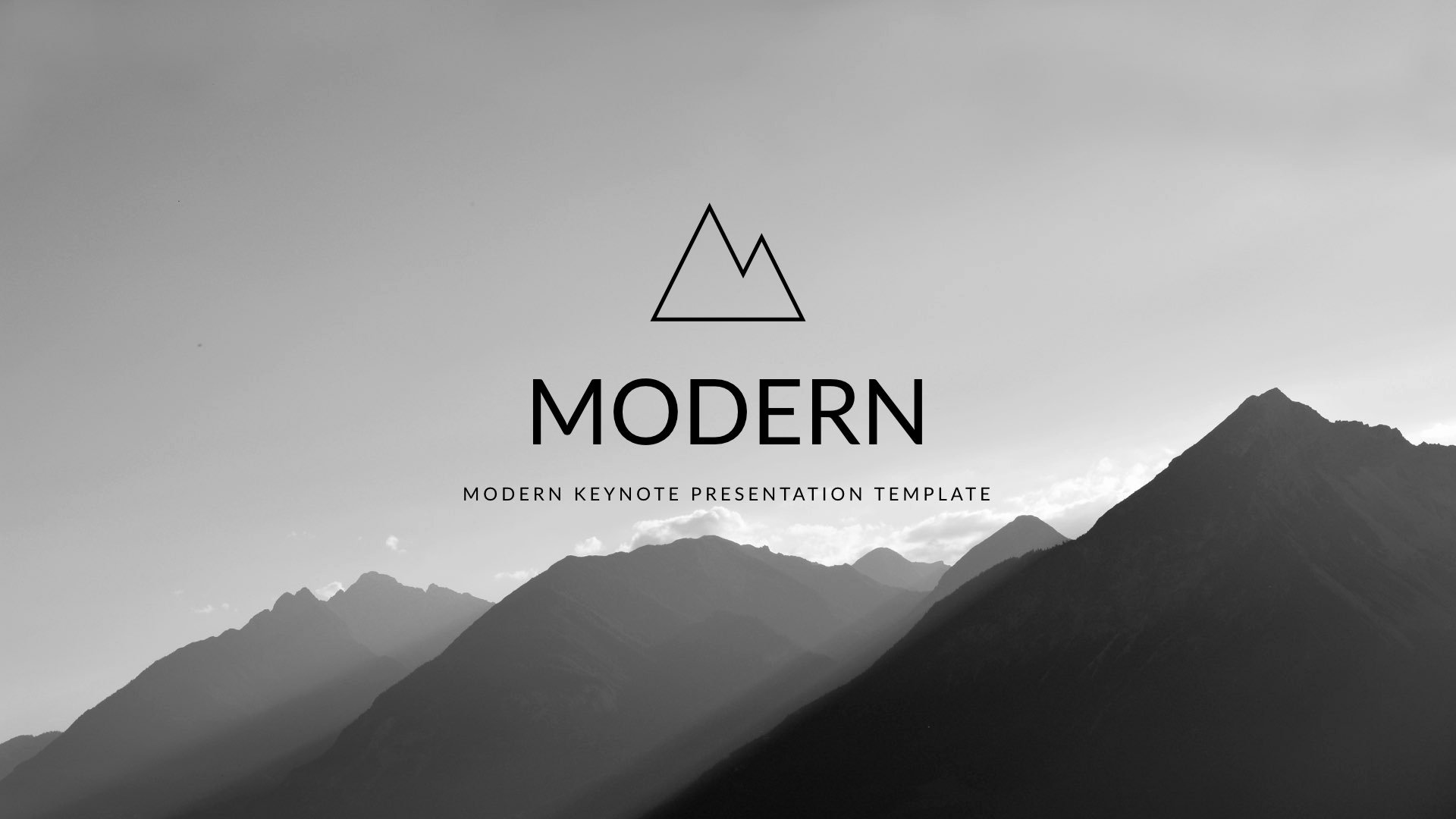 Modern Clean Trend Keynote Template by 5yue