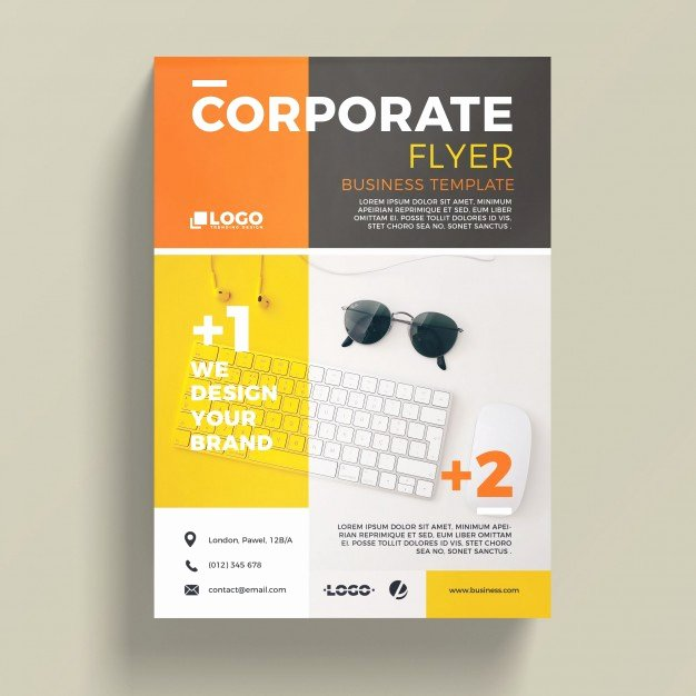 Modern Corporate Business Flyer Template Psd File