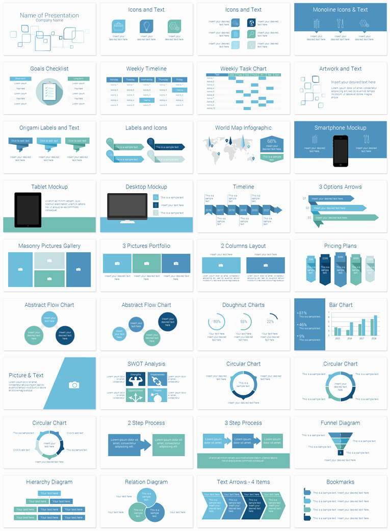 Modern Corporate Powerpoint Template Presentationdeck