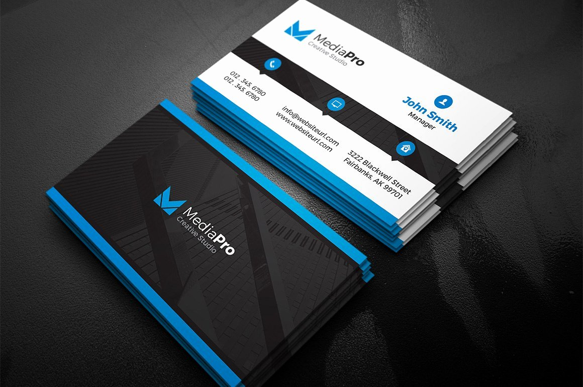 Modern Creative Business Card Business Card Templates