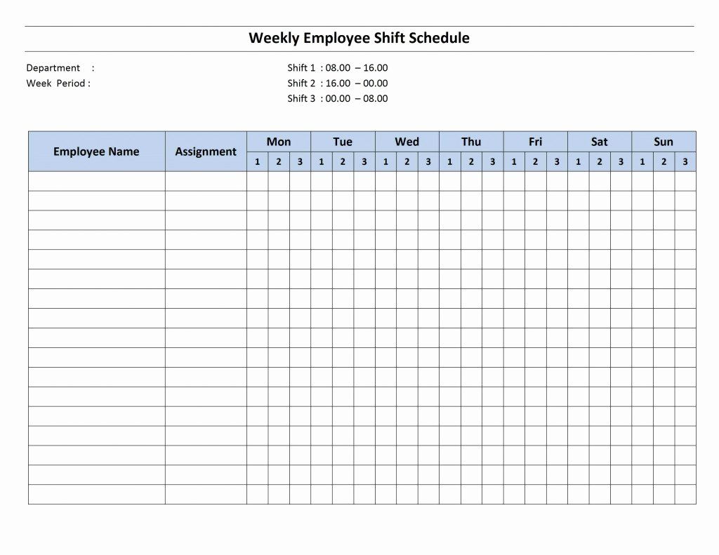 Modern Daily Medication Schedule Template Pattern