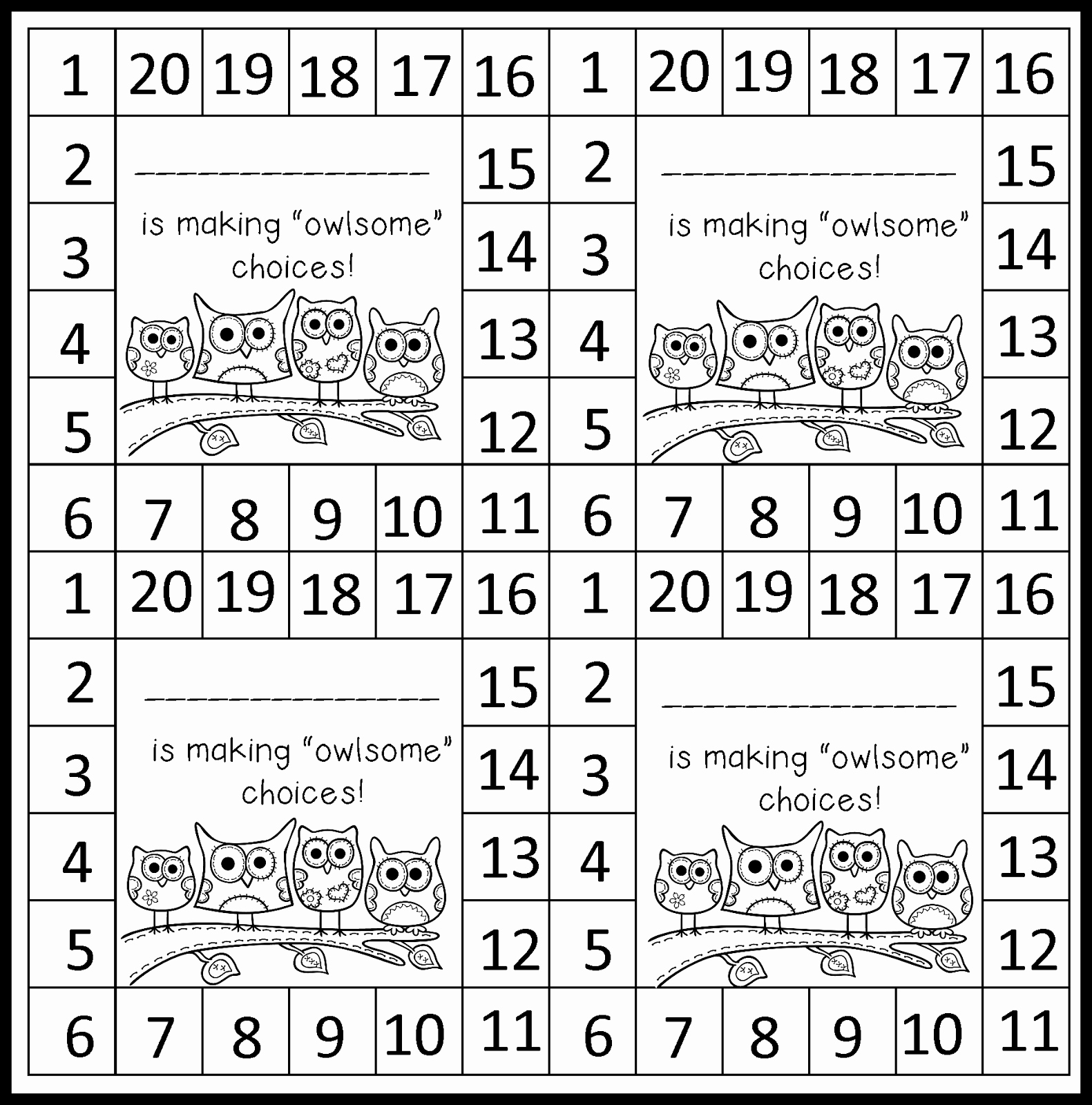 Monday Made It Behavior Punch Cards Mrs B S Beehive