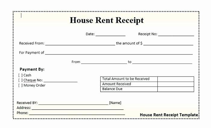 Money order Receipt Template 7 General Receipt Templates – Latter
