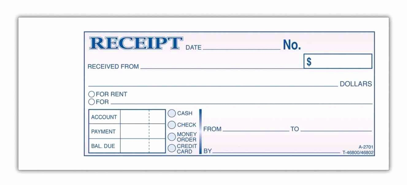 Money order Template