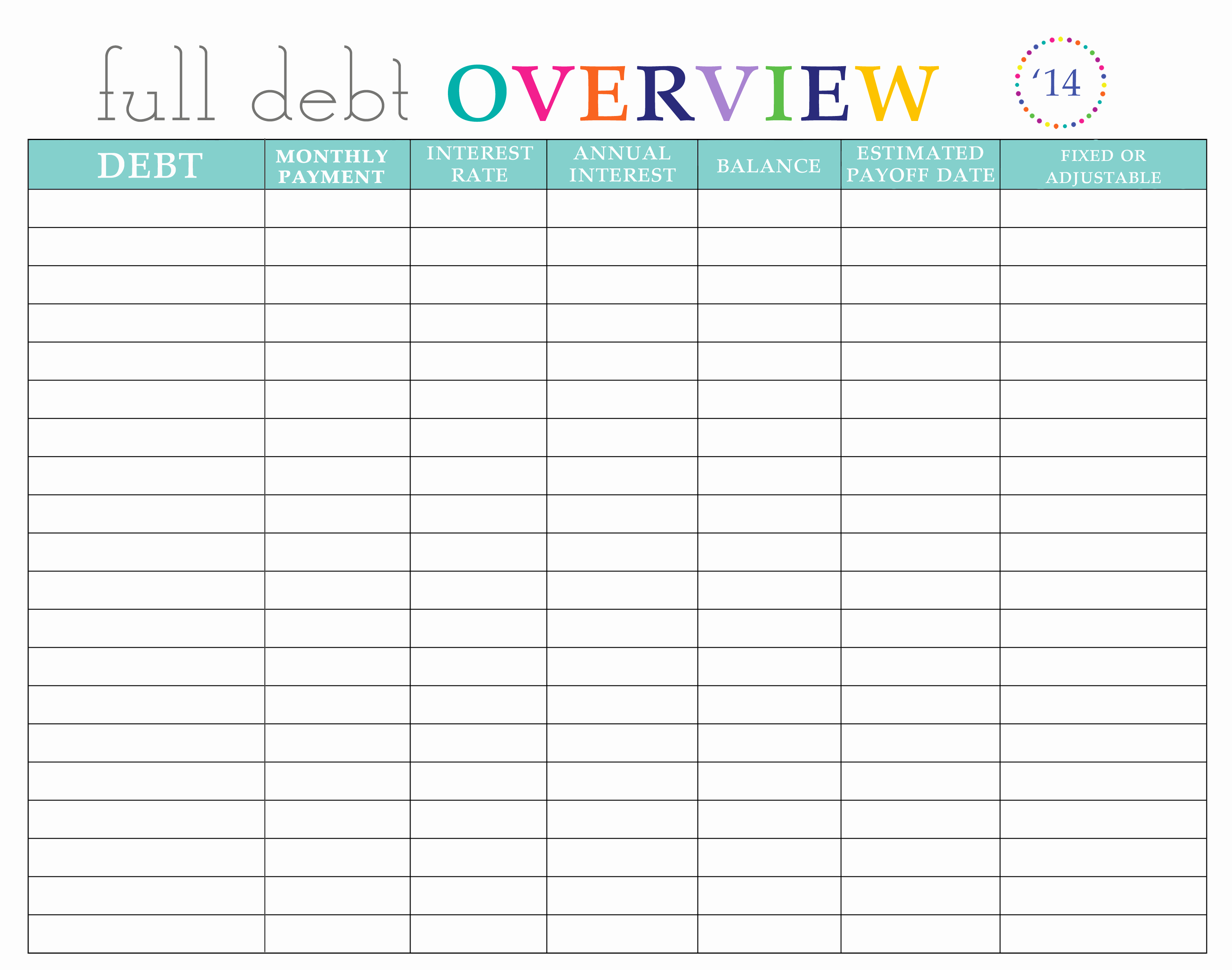 Monthly Bill organizer Template Excel – Spreadsheets