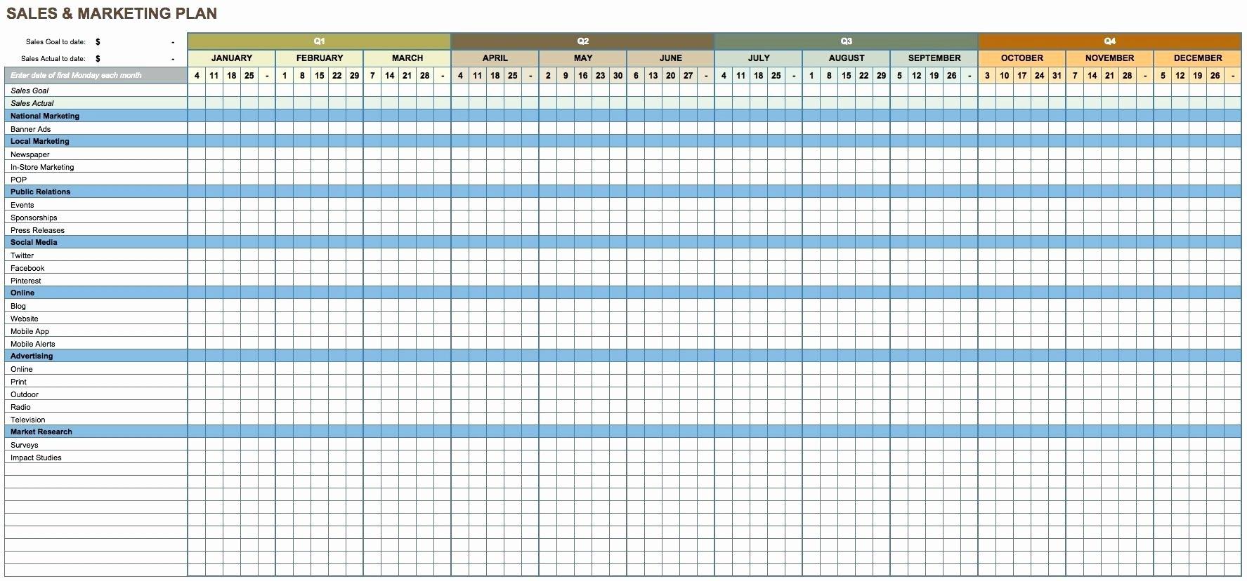 Monthly Financial Report Excel Staruptalent