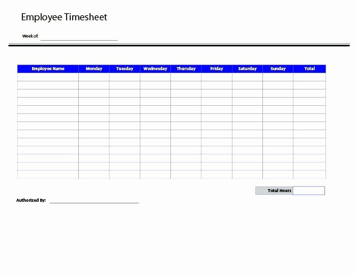 Monthly Template Excel Semi Bi Free Timesheet Calculate