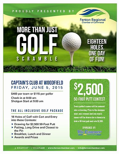 More Than Just Golf Scramble