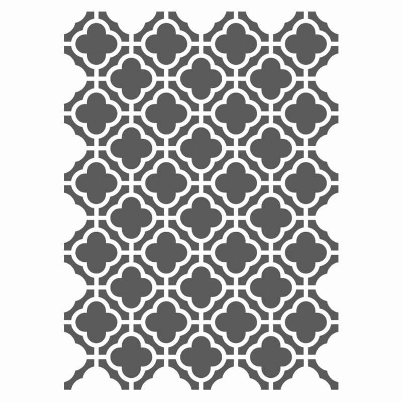Moroccan Stencils Template Small Scale for Crafting