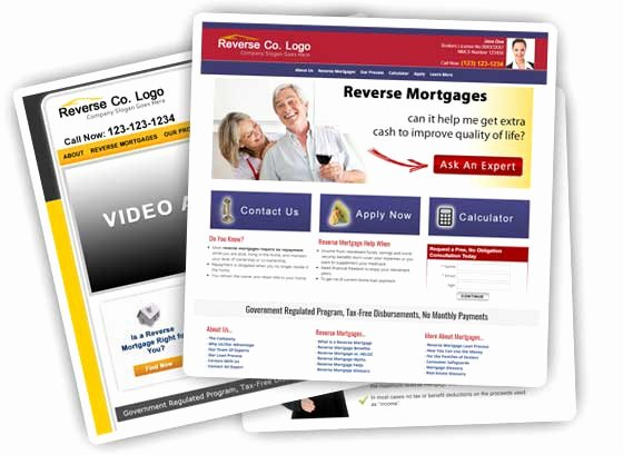 Mortgage Website Design Mortgage Website Templates