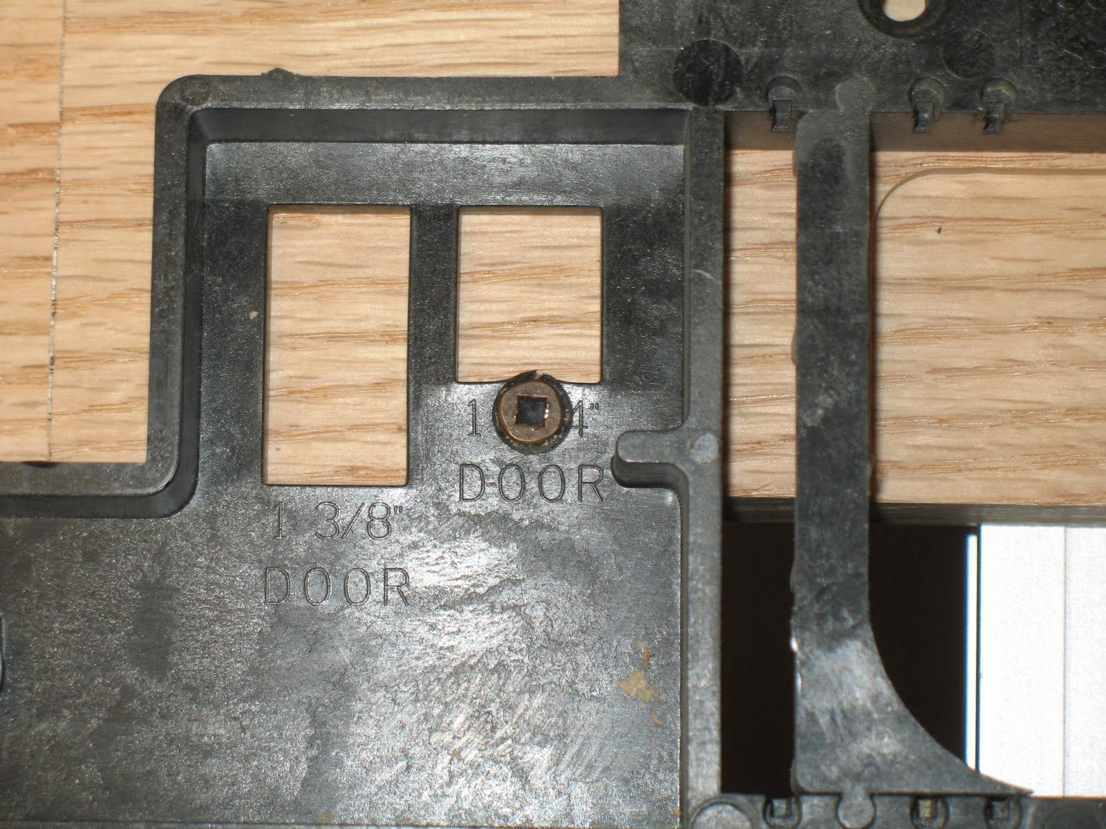Mortise Hinge Template Gallery Professional Report