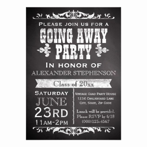 Most Popular Farewell Party Invitations