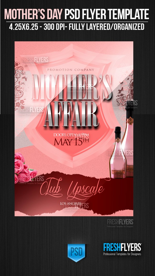 Mother S Affair Psd Flyer Template by Imperialflyers On
