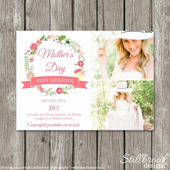 Mother S Day Mini Session Template Marketing Board Mom