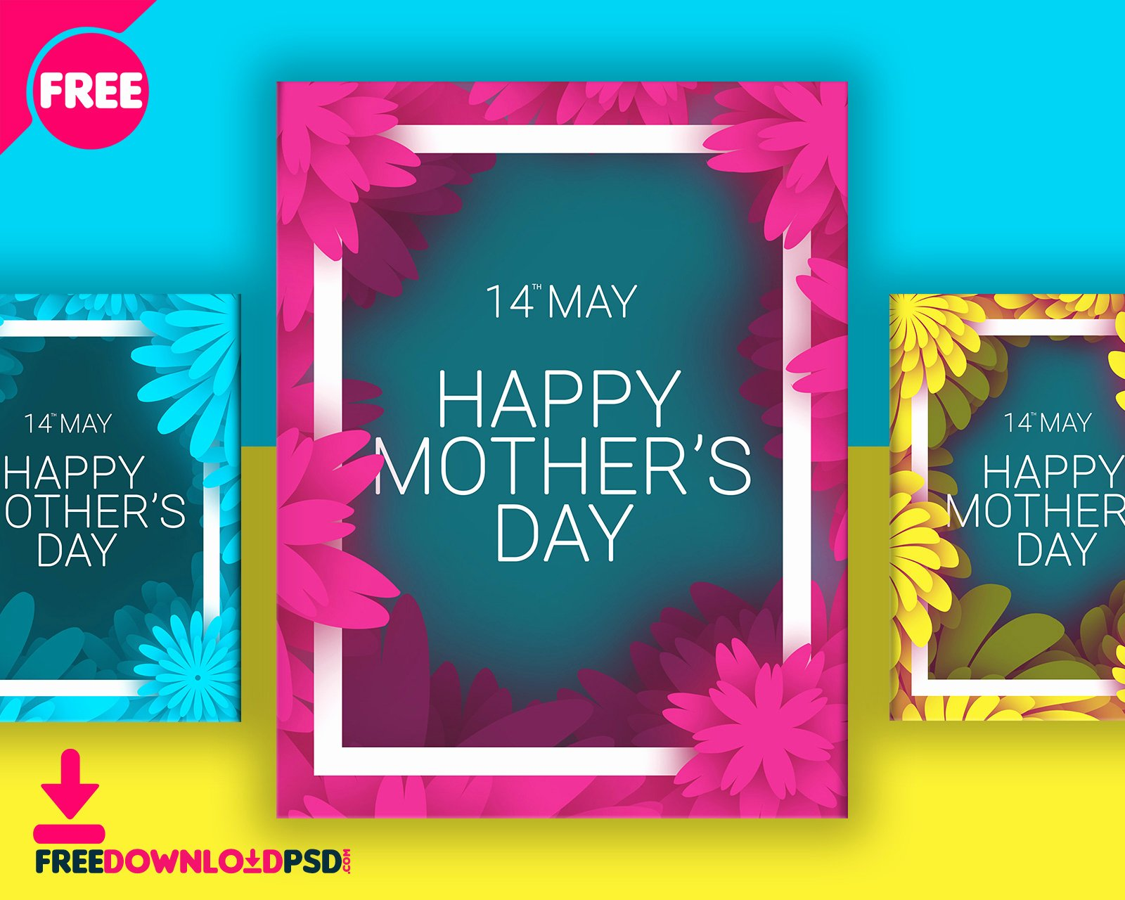 Mothers Day Free Flyer Template Psd Download Download Psd