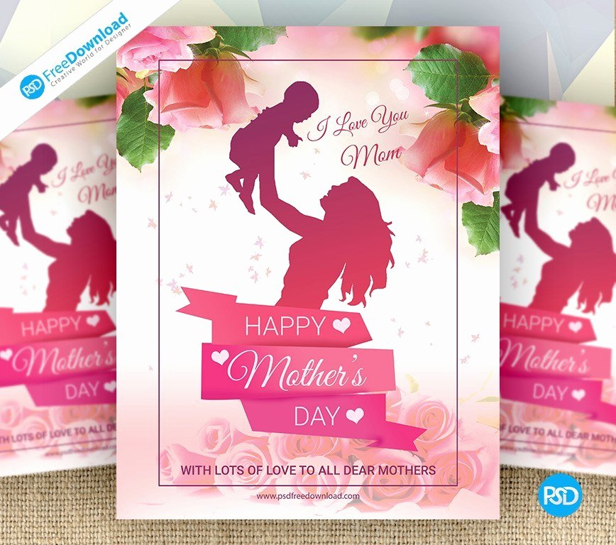 Mother's Day Special Flyer Psd