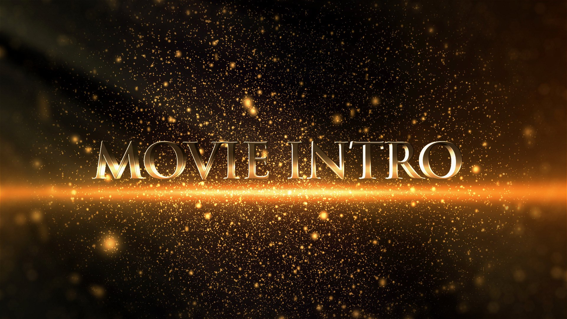Movie Intro Cinematic after Effects Opener Template