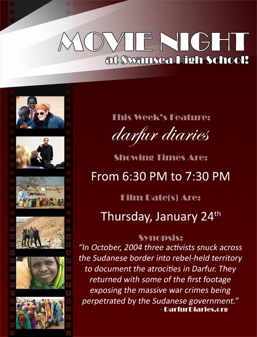 Movie Night Flyer Template by Ctcorbett On Deviantart