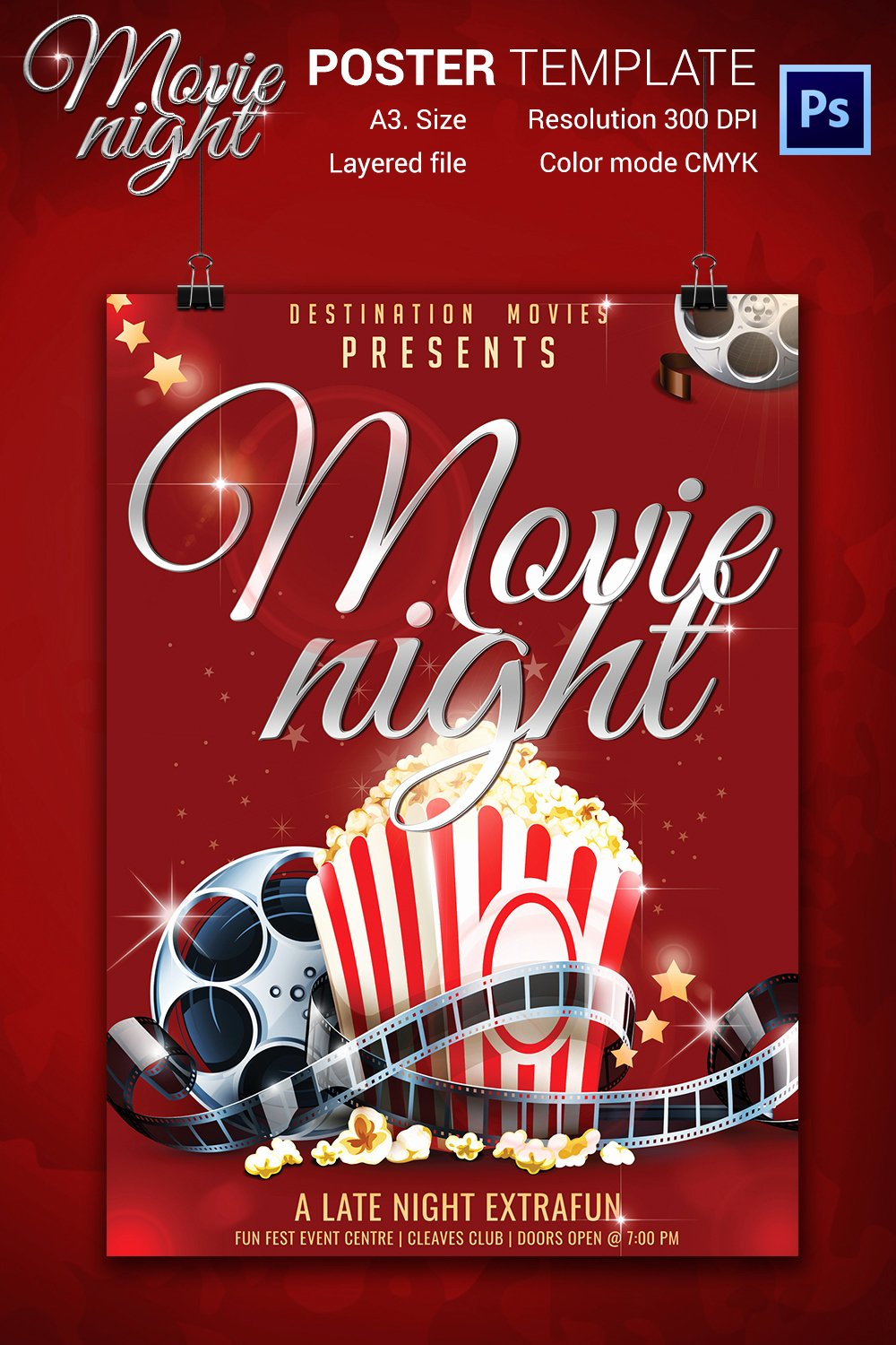 Movie Poster S Free Psd format Download event Flyer