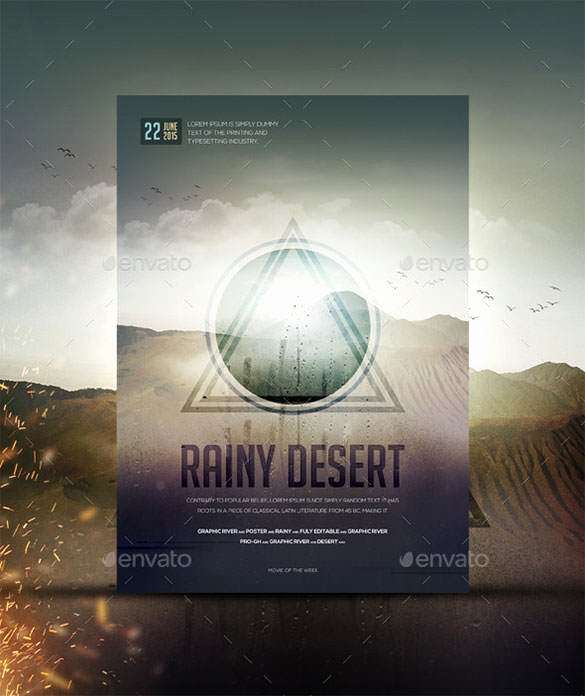 Movie Poster Templates 26 Free Psd format Download