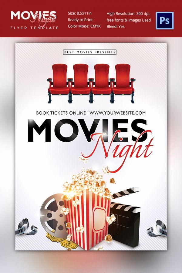 Movie Poster Templates – 44 Free Psd format Download
