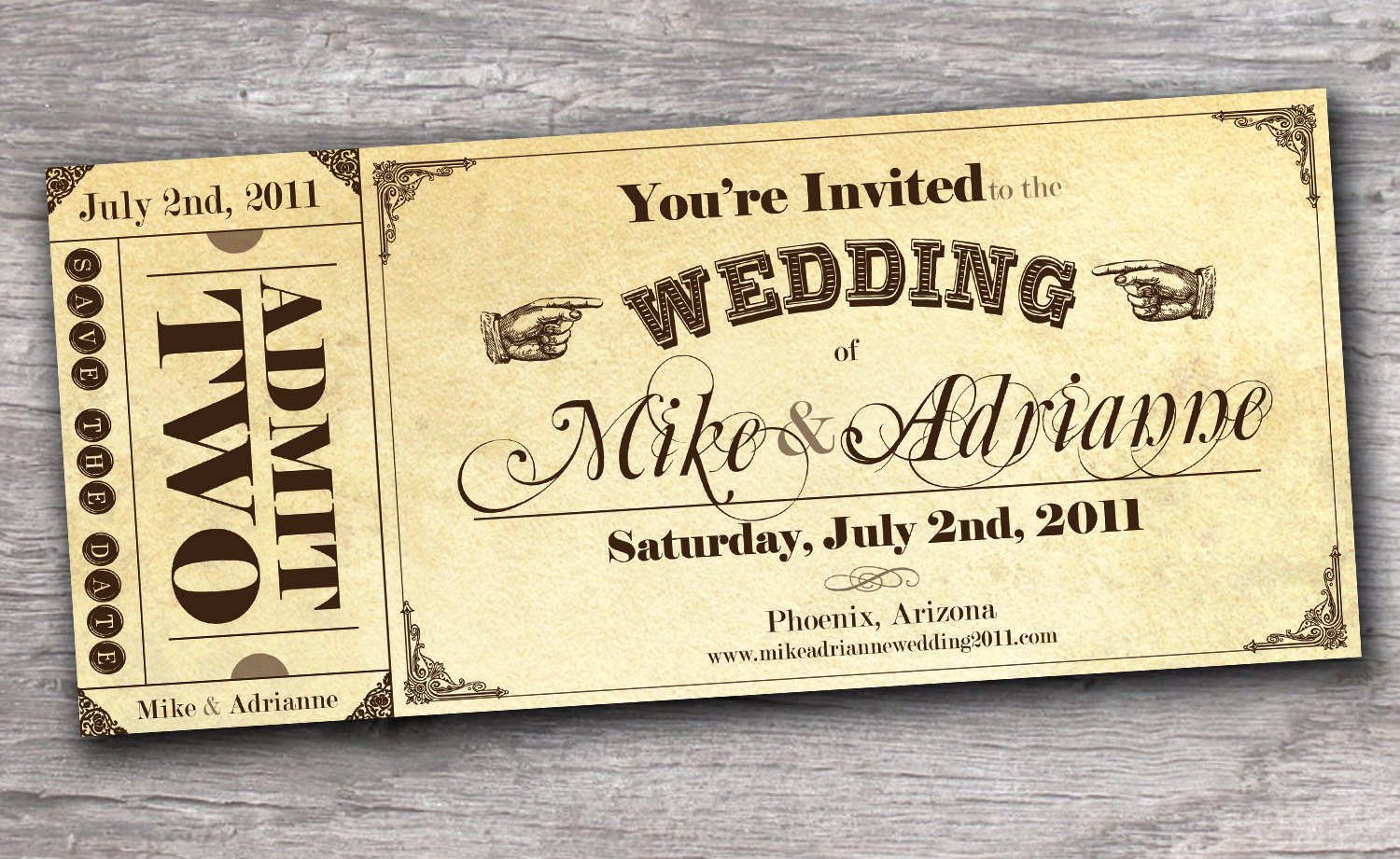 Movie Ticket Invitation Template Free Admission Ticket