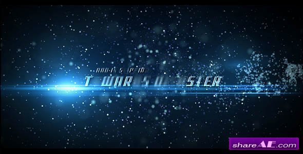 Movie Trailer 01 after Effects Project Videohive