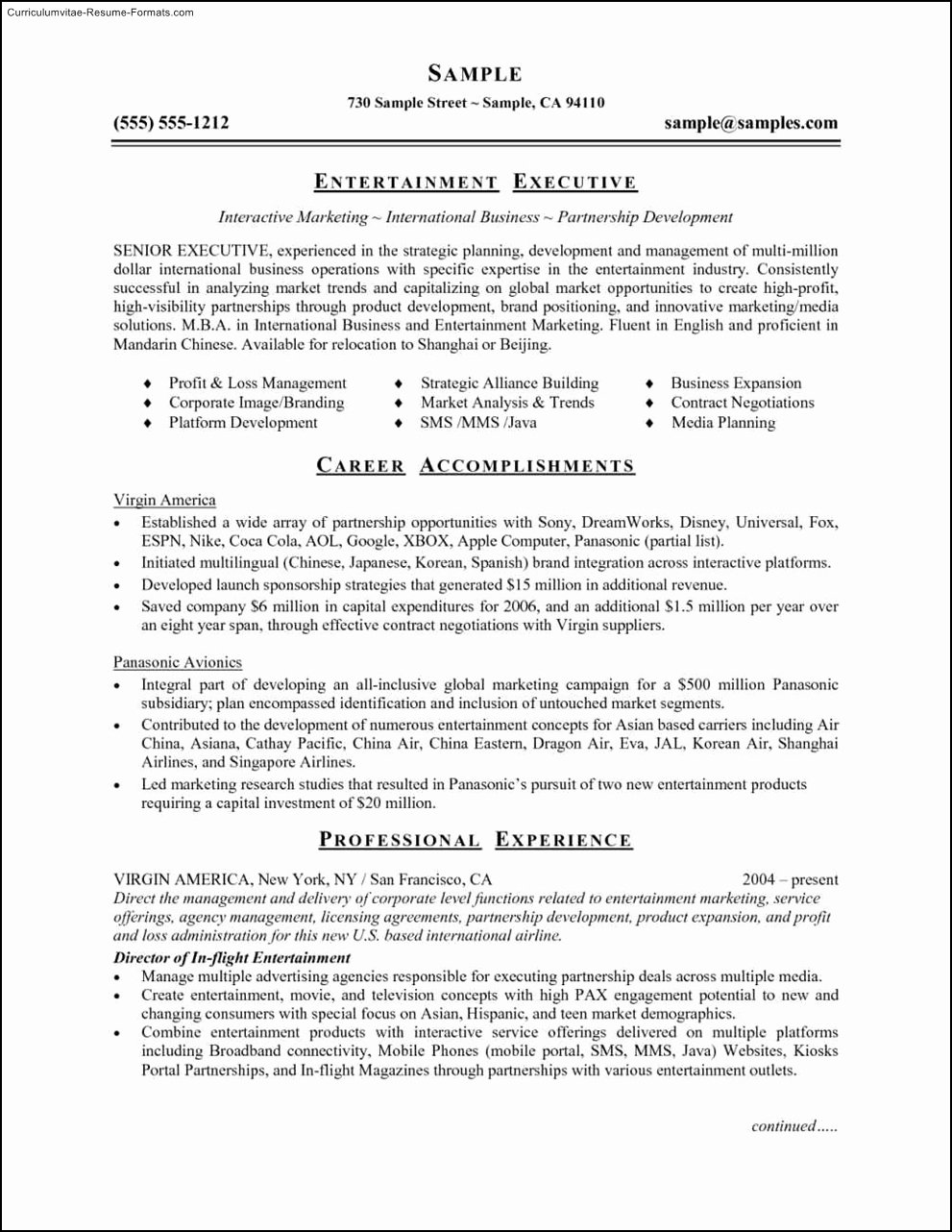 Ms Fice 2007 Resume Templates Free Samples Examples