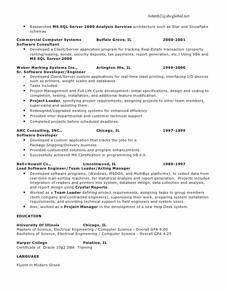 Ms Sql Resume Copywriterbranding X Fc2