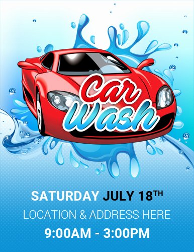 ms word car show flyer template
