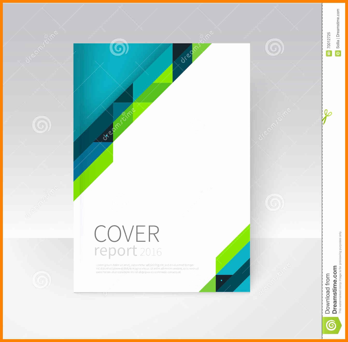 Ms Word Cover Page Templates Free Downloadochure Flyer
