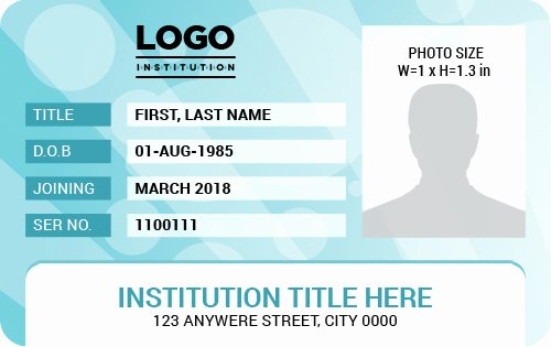 Ms Word Id Badge Templates for All Professionals