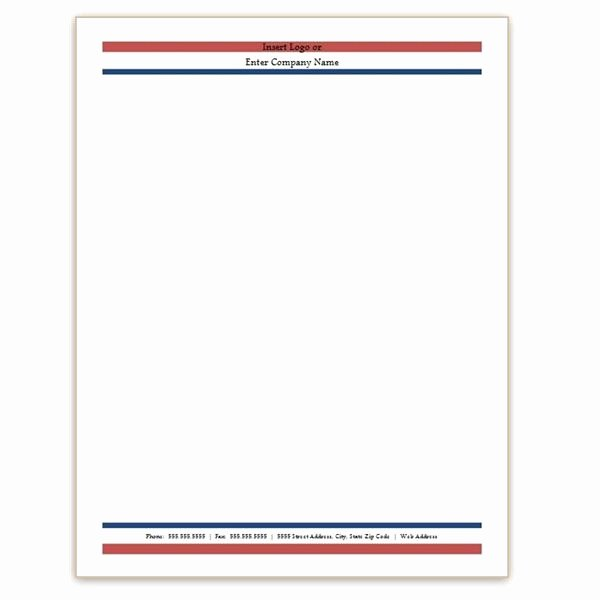 Ms Word Letterhead Templates Free Download Letter Of