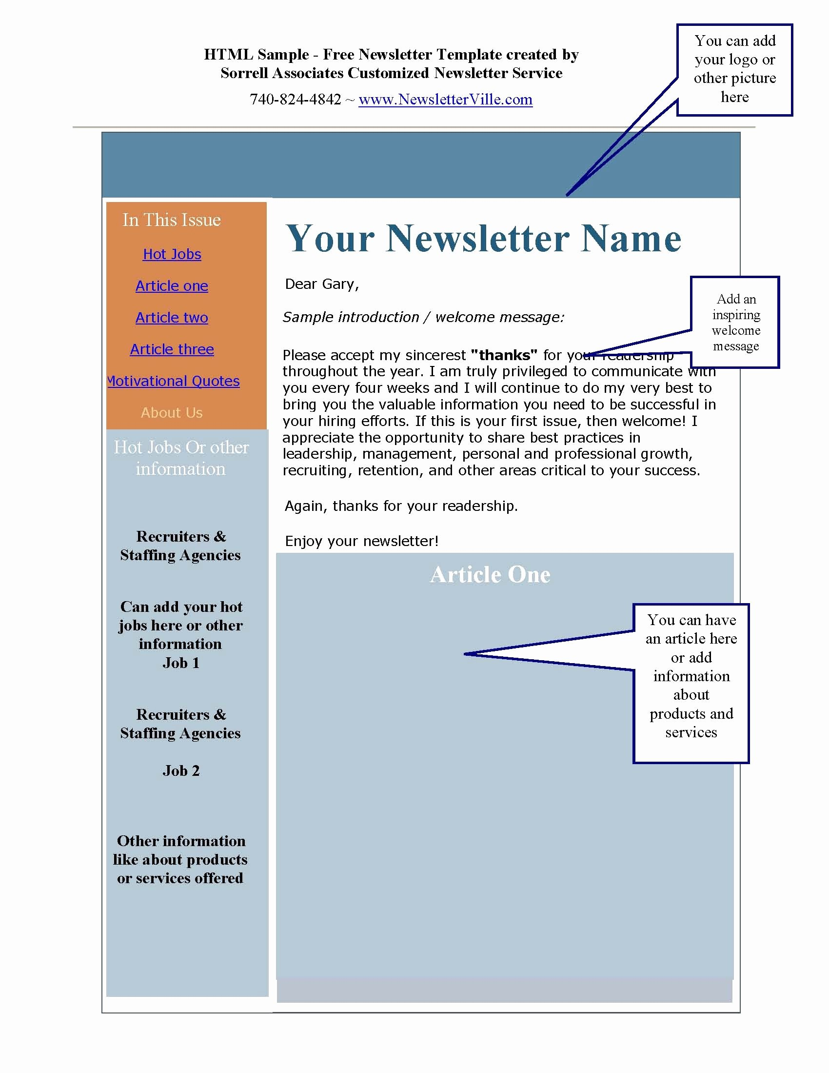 Ms Word Newsletter Templates Portablegasgrillweber
