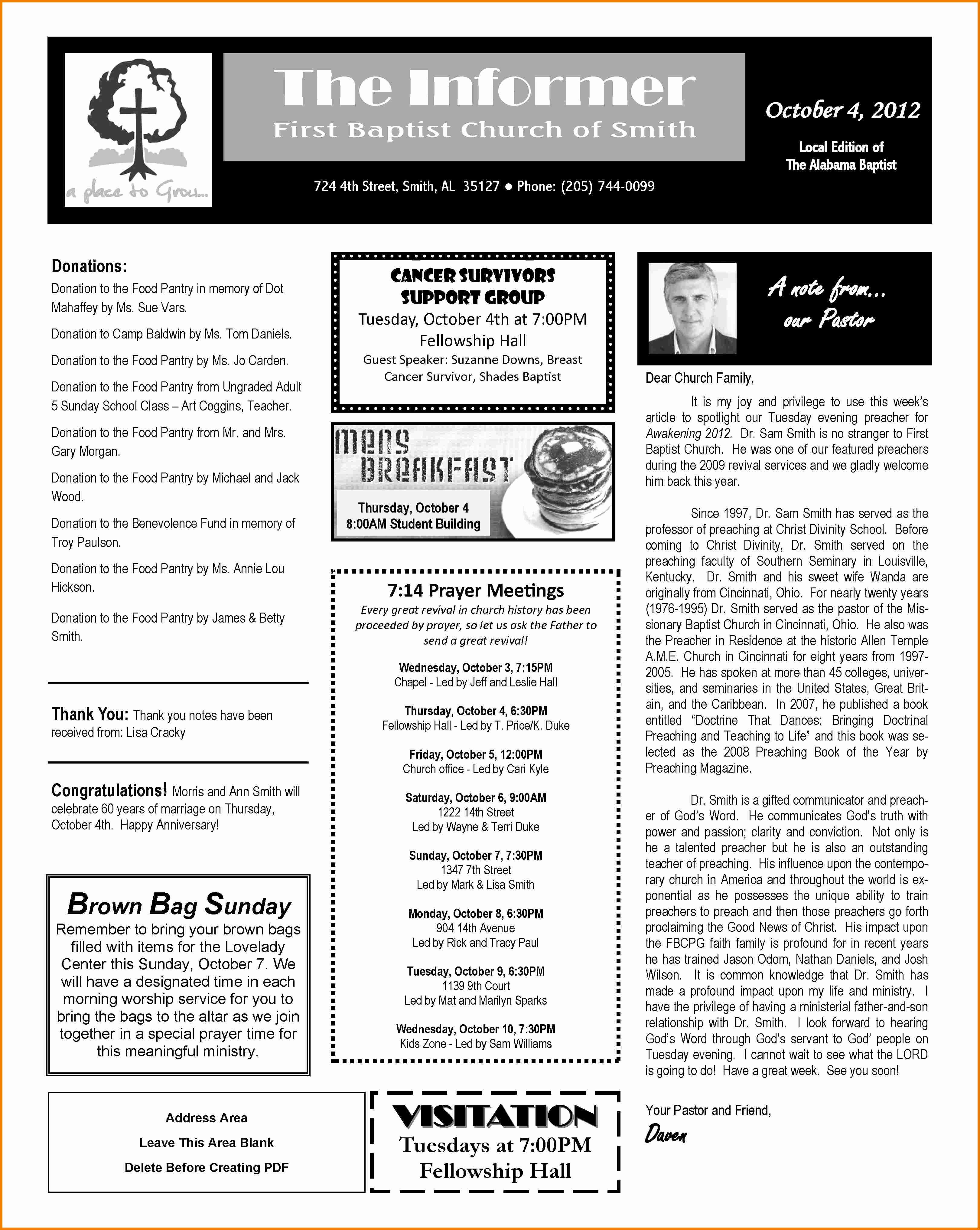 Ms Word Newsletter Templates Portablegasgrillweber