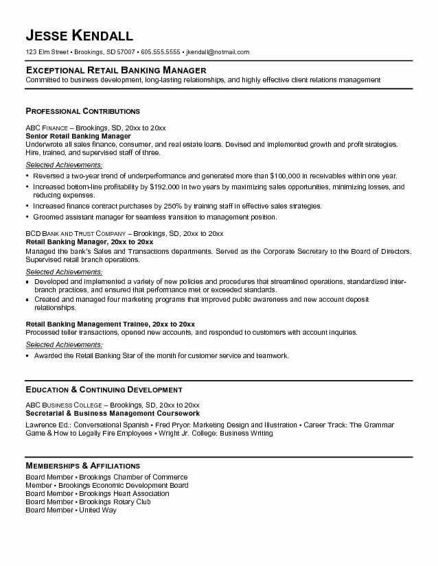 Ms Word Resume Template Luxury Best Federal Government