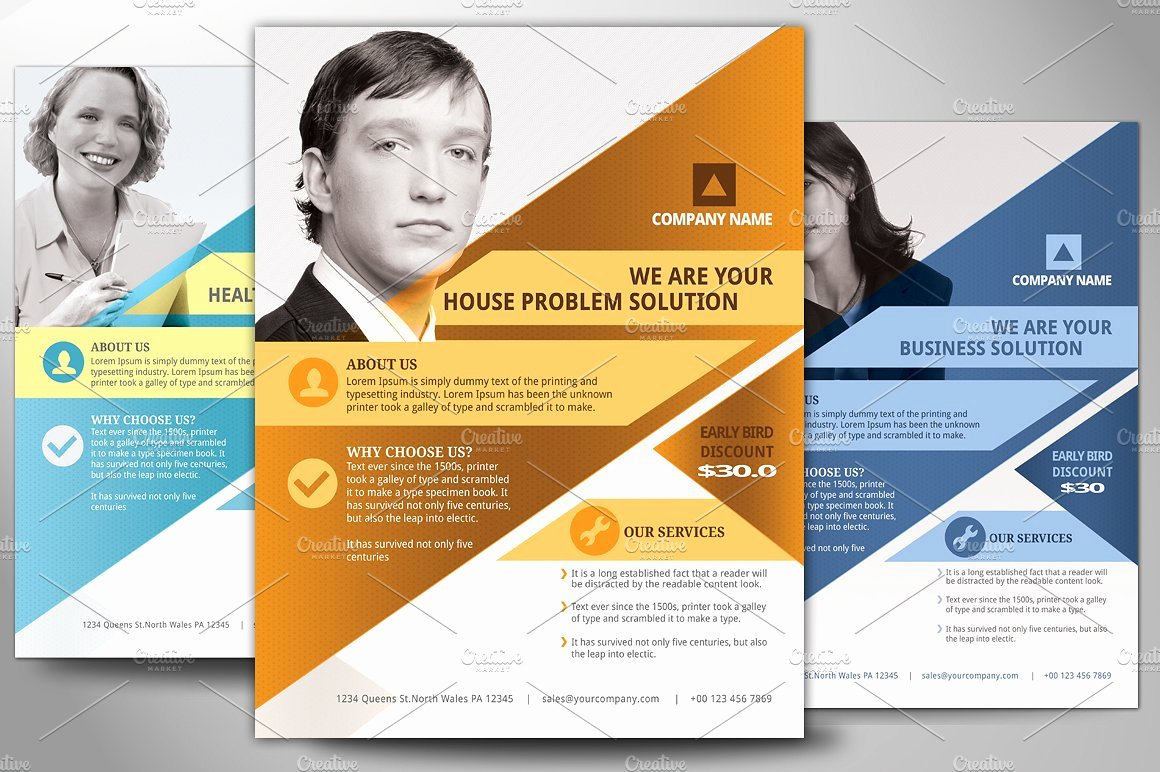 Multipurpose Business Flyer Poster Flyer Templates