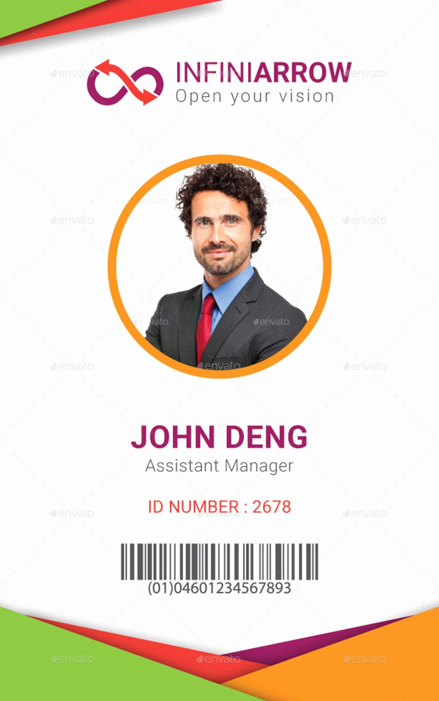 Multipurpose Business Id Card Template by Dotnpix
