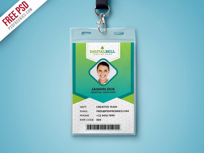 Multipurpose Identity Card Template Psd Download