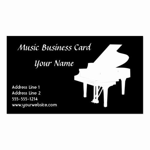 Music Business Card Templates Page38